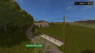 Карта с лесами для Farming Simulator 2017