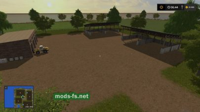 Карата с морем для Farming Simulator 2017