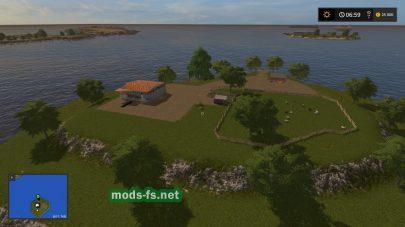 Мод карты с островами