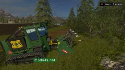 galotrax 800 officiel: для лесозаготовки в FS 17