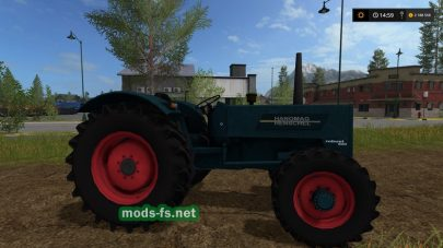 Мод трактора Hanomag Robust 900A