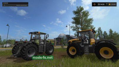 Мод трактора JCB FASTRAC