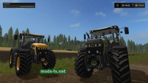 Трактор JCB FASTRAC