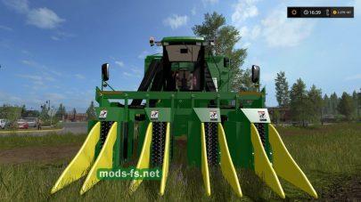 Мод комбайна John Deere 9956 Cotton Harvestor