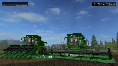 Мод комбайнов JOHN DEERE T SERIES OFFICIAL