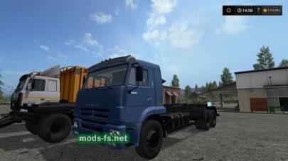 Мод грузовика КамАЗ-658667