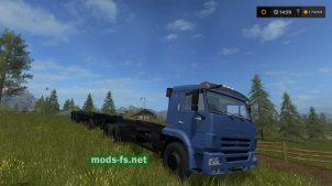 Тягач КамАЗ-658667 для FS 17