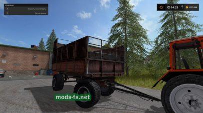 Русский прицеп ПТС для FS 17