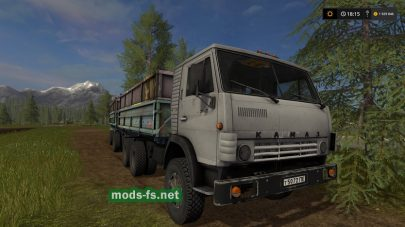 Мод на KAMAZ 5320