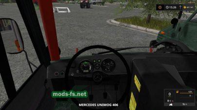 Мод машин Unimog 406