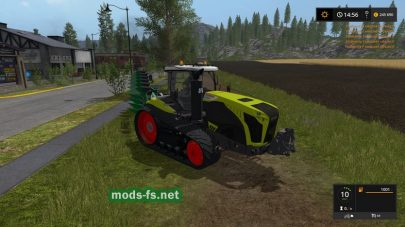 CLAAS XERION TT для Farming Simulator 2017