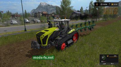 Мод трактора CLAAS XERION TT