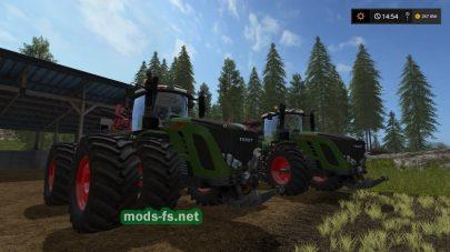 Мощный трактор Fendt Vario T
