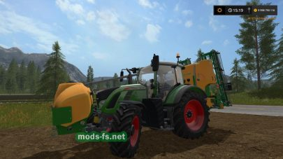 Amazone Sprayer Pack With Schlauch