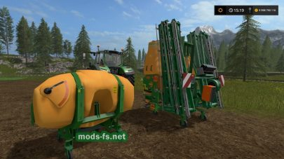 Amazone Sprayer FS 2017