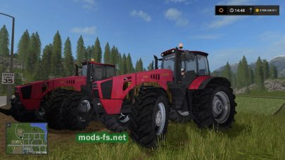 Мод трактора Беларус 4522
