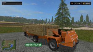 Мод BUCHER TRL2600 для перевозки сена