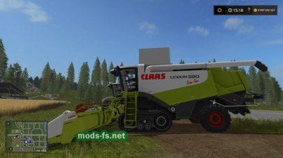 CLAAS LEXION 580 mods