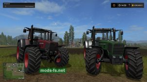 Мод трактора FENDT FAVORIT 800