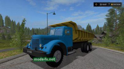 Мод грузовика ЯАЗ 200 самосвал