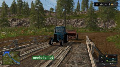 Старая деревня в игре FS 17