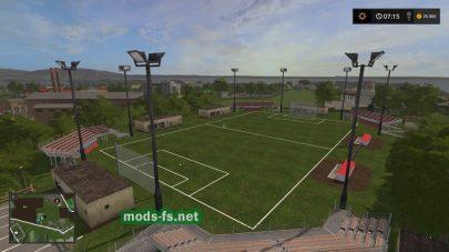 Футбольное поле в FS 17