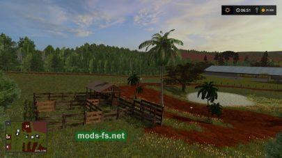Rancho Paraiso для игры FS 17