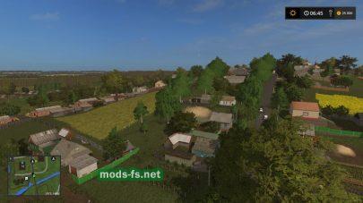 Мод карты «Село Спасское»