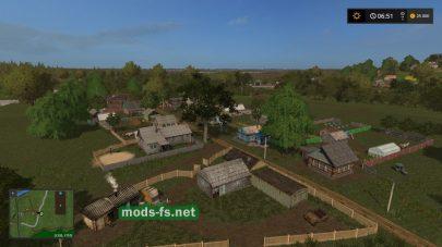 Русская деревня в FS 17