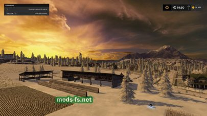 Gold Cresty Valley Snow Edition map