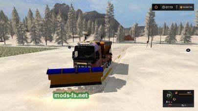 Много снега в FS 17