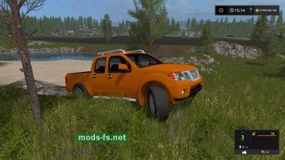Nissan Frontier PRO-4X mods
