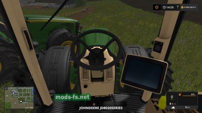Мод трактора JOHN DEERE 8020