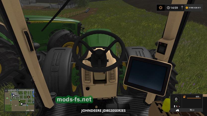 Модификация трактора JOHN DEERE 8020 для Farming Simulator