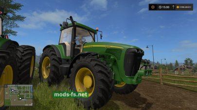 Скриншот мода трактора JOHN DEERE 8020