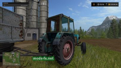 Мод трактора ЮМЗ
