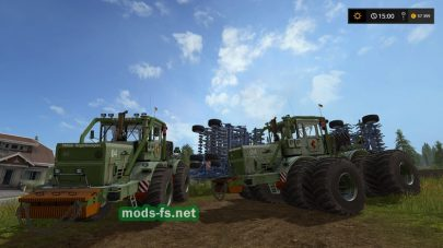 Мод трактора K701 NVA