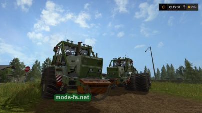 K701 NVA для Farming Simulator 2017