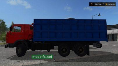 Мод на грузовик КамАЗ-55102