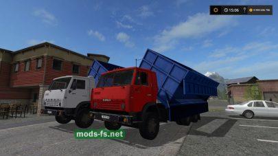 kamaz 55102 mods