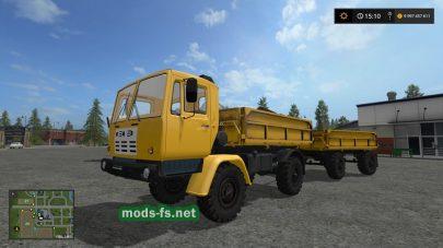 Мод грузовиков КАЗ