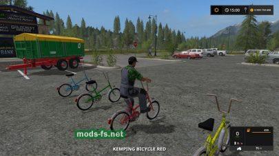 Мод Kemping Bicycle
