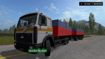 Мод грузовика МАЗ-6303
