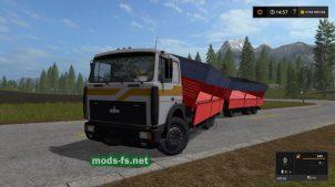 МАЗ-6303 для Farming Simulator 2017
