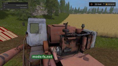 Комбайн Нива СК-5М1 для игры FS 2017