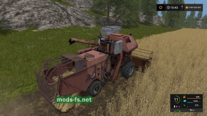 Нива СК-5М1 для игры FS 17