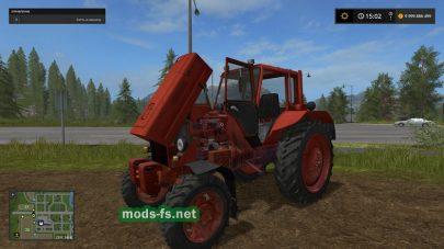 Скриншот мода «МТЗ-82»