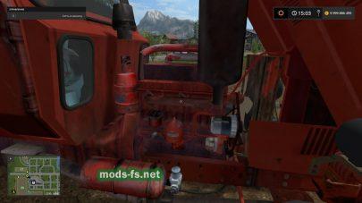 Красный «МТЗ-82» в игре FS 17