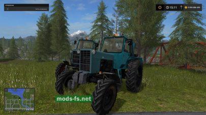 Турбо трактор МТЗ 82 в FS 17