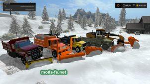 Как горнуть снег в игре Farming Simulator 2017